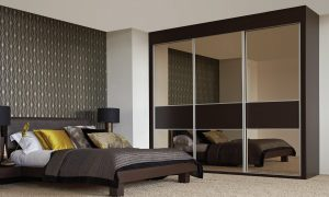 3 Panel Elegance - Mirrored & Noir Glass