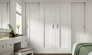 Milton Sliding Doors White