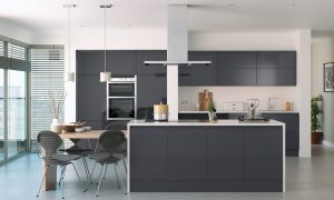 Trend Handleless Anthracite Gloss