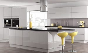 Trend Handleless White Gloss