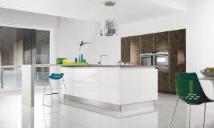 Futura - White Gloss & Bronze Gloss