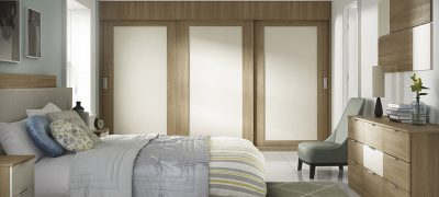 Moda Sliding Wardrobes - Two Tone