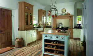 Shaker - Pantry Cream, Dainty Blue & Natural Oak