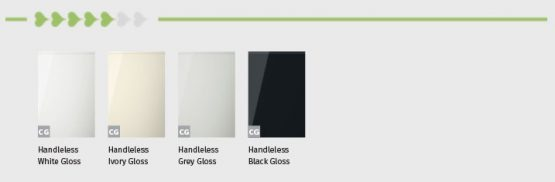 Trend Handless Gloss Door Finishes