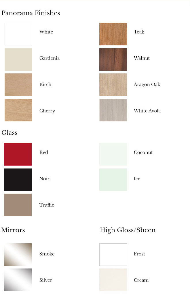 3 Panel Door Finishes